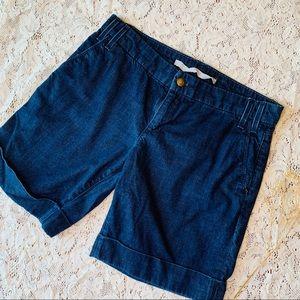 Joe's Jeans Dark Wash Bermuda Shorts (4)